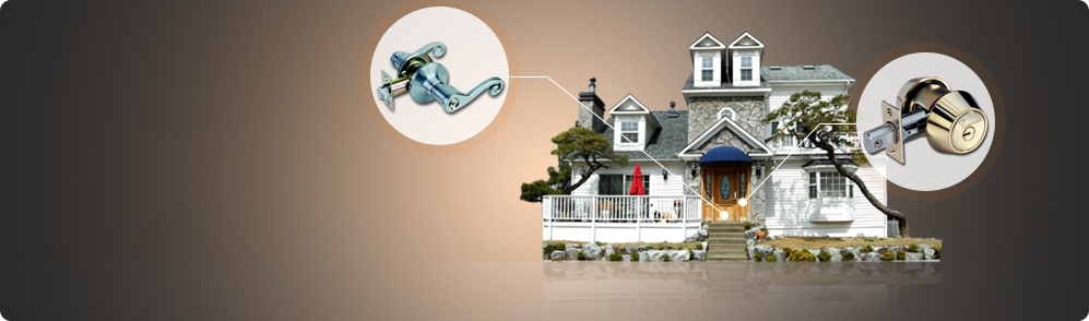 Residential Locksmith<br> <span>Make your home a secure place! Trust FC Locksmith for lock change, repair and rekey! Our contractors are well-trained, fully trusted specialized professionals for residential locksmith services. We'll be there for your needs! We respond immediately and 24/7 to your emergencies! Let us secure your world!</span>